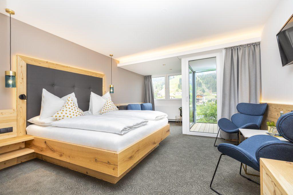 Hotelzimmer perfekt in Szene