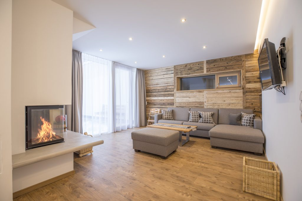 Modernes Apartment – alpine chic